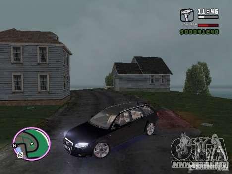 Audi A4 avant 3.2 QUATTRO para GTA Vice City vista lateral izquierdo