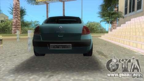 Renault Megane Sedan para GTA Vice City left