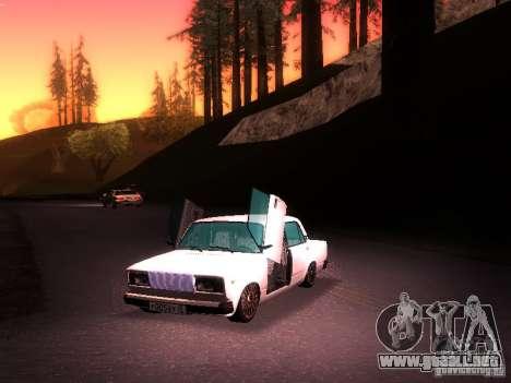 VAZ 2107 Lambo para la visión correcta GTA San Andreas