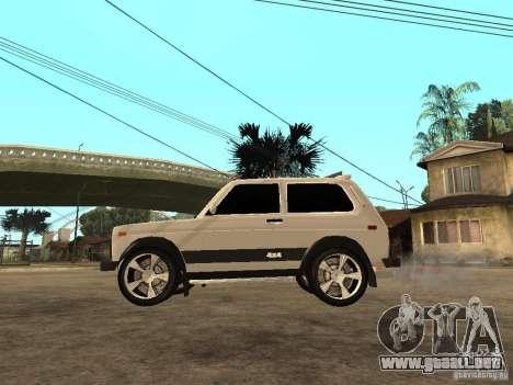 La afinación luz Niva VAZ 21213 para GTA San Andreas left