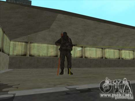Weapon with laser para GTA San Andreas segunda pantalla