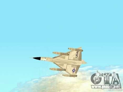 B-58 Hustler para la visión correcta GTA San Andreas