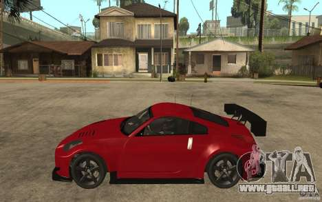 Nissan 350Z Supreme para GTA San Andreas left