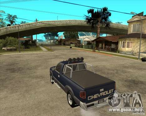 1996 Chevrolet Blazer pickup para GTA San Andreas left