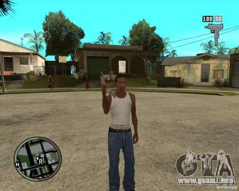 GTA IV HUD para GTA San Andreas segunda pantalla