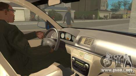 Hyundai Sonata NF para visión interna GTA San Andreas