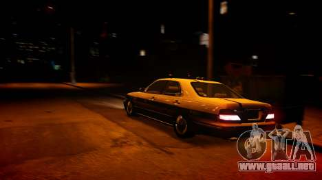 Nissan Cedric Y33 Privately Taxi para GTA 4
