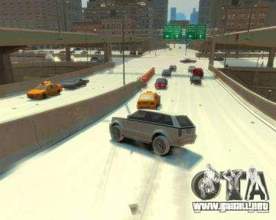 Lluvia helada para GTA 4 segundos de pantalla