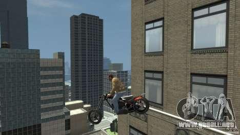 The Lost and Damned Bikes Diabolus para GTA 4 vista hacia atrás