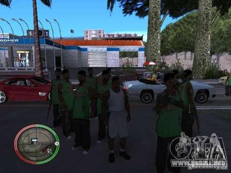 La gente de lluvia para GTA San Andreas