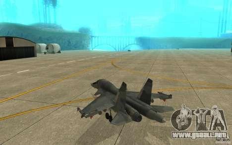 El Su-34 para la visión correcta GTA San Andreas