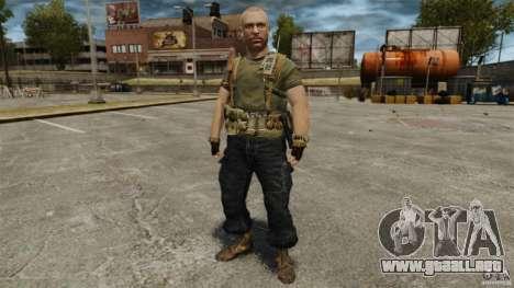 Jason Hudson para GTA 4 sexto de pantalla