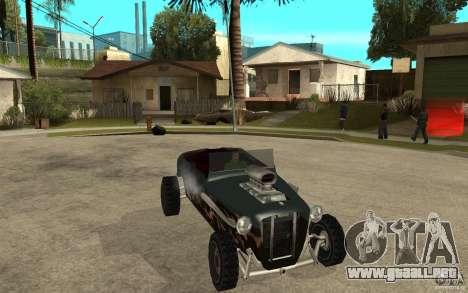 Deuce Brutal Legend para GTA San Andreas vista hacia atrás