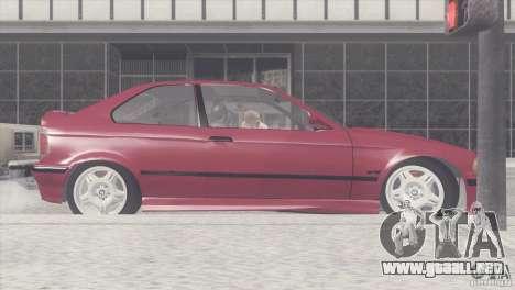 BMW e36 M3 Compact para GTA San Andreas left