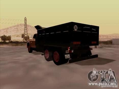 Dodge Dumper para la visión correcta GTA San Andreas