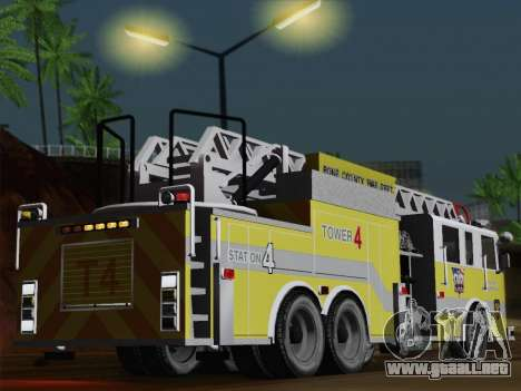 Pierce Arrow XT BCFD Tower Ladder 4 para GTA San Andreas