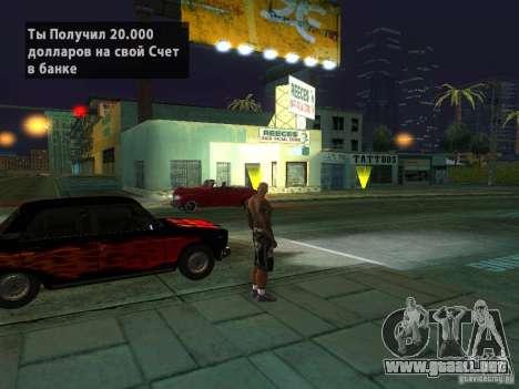 Killer Mod para GTA San Andreas undécima de pantalla