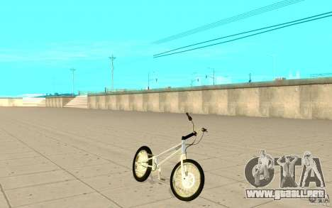 Trail Bike Chrome para GTA San Andreas