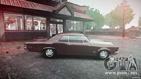 Pontiac GTO 1965 para GTA 4 left