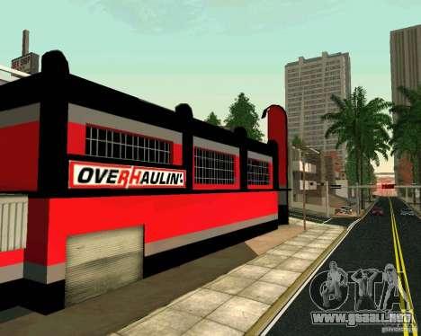 Taller de OVERHAULIN para GTA San Andreas
