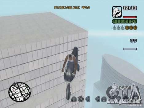 Detener el tiempo para GTA San Andreas tercera pantalla
