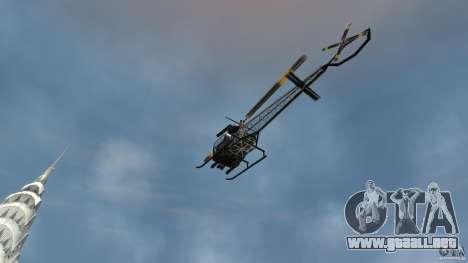 Sparrow Hilator para GTA 4 vista hacia atrás