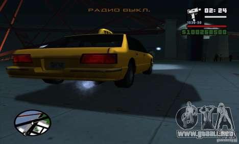 Enb Series HD v2 para GTA San Andreas novena de pantalla