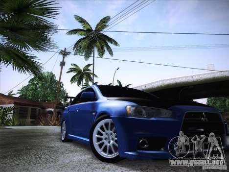 Mitsubishi Lancer Evolution Drift Edition para GTA San Andreas