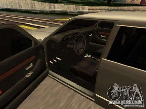 HD Stretch para GTA San Andreas vista posterior izquierda