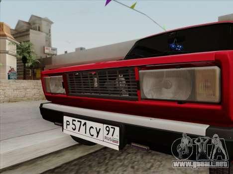 VAZ 21054 para la visión correcta GTA San Andreas