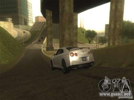 ENB v1 by Tinrion para GTA San Andreas sucesivamente de pantalla