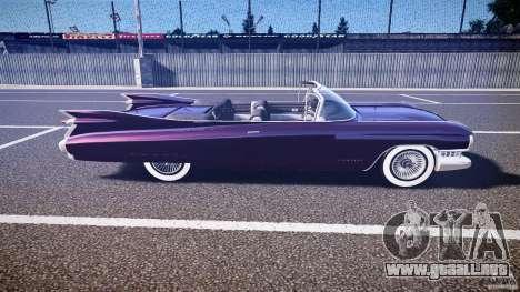 Cadillac Eldorado 1959 interior black para GTA 4 vista lateral