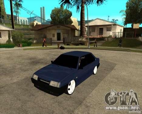VAZ 21099 luz sintonía por Diman para GTA San Andreas