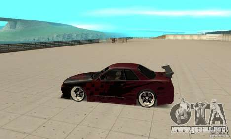 Nissan Skyline R32 Drift Edition para GTA San Andreas left