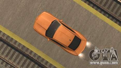 Chevrolet Camaro SS 2010 v2.0 Final para GTA San Andreas vista hacia atrás
