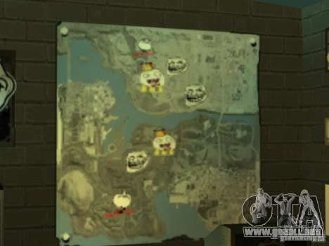 MIERDA de bar Sí para GTA San Andreas quinta pantalla