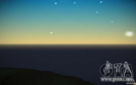 Agua HD v3.0 para GTA San Andreas octavo de pantalla
