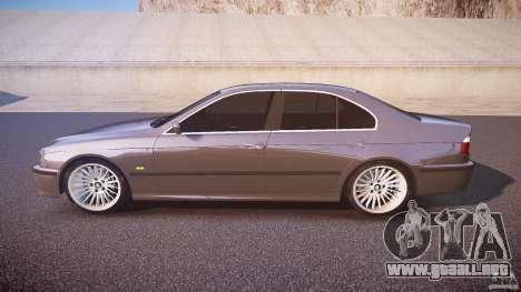 BMW 530I E39 stock white wheels para GTA 4 left