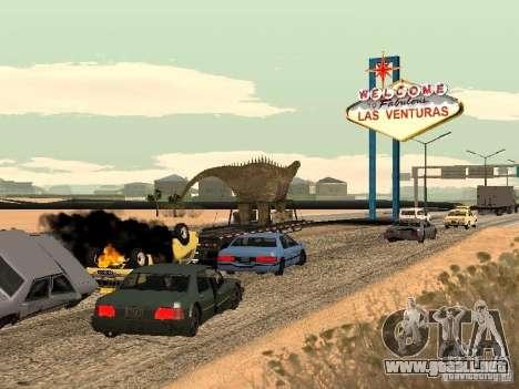 Dinosaurio Trailer para la visión correcta GTA San Andreas