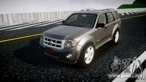 Ford Escape 2011 Hybrid Civilian Version v1.0 para GTA 4