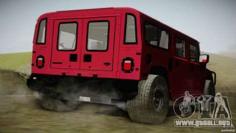 Hummer H1 Alpha Off Road Edition para GTA San Andreas left