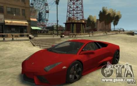Lamborghini Reventon Coupe para GTA 4