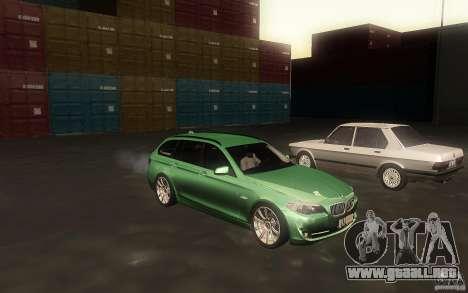 BMW F11 530d Touring para visión interna GTA San Andreas