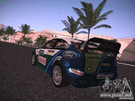 Ford Focus RS WRC 2006 para GTA San Andreas left