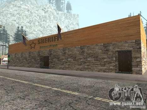 Pueblo de Angel Pine modificado para GTA San Andreas segunda pantalla