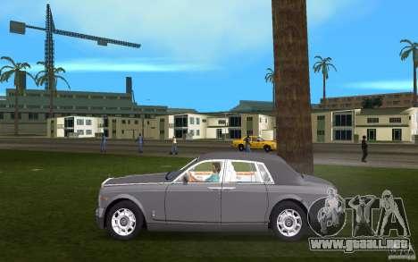 Rolls Royce Phantom para GTA Vice City left