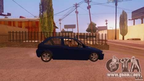 Volkswagen Gol G4 para la visión correcta GTA San Andreas