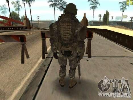 Luchar contra los soldados de CoD: Mw2 para GTA San Andreas tercera pantalla
