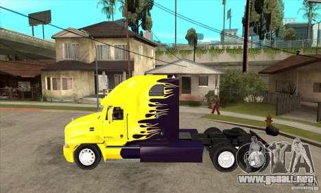 Mack para GTA San Andreas vista posterior izquierda
