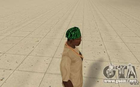 Matriz de pañuelos para GTA San Andreas segunda pantalla